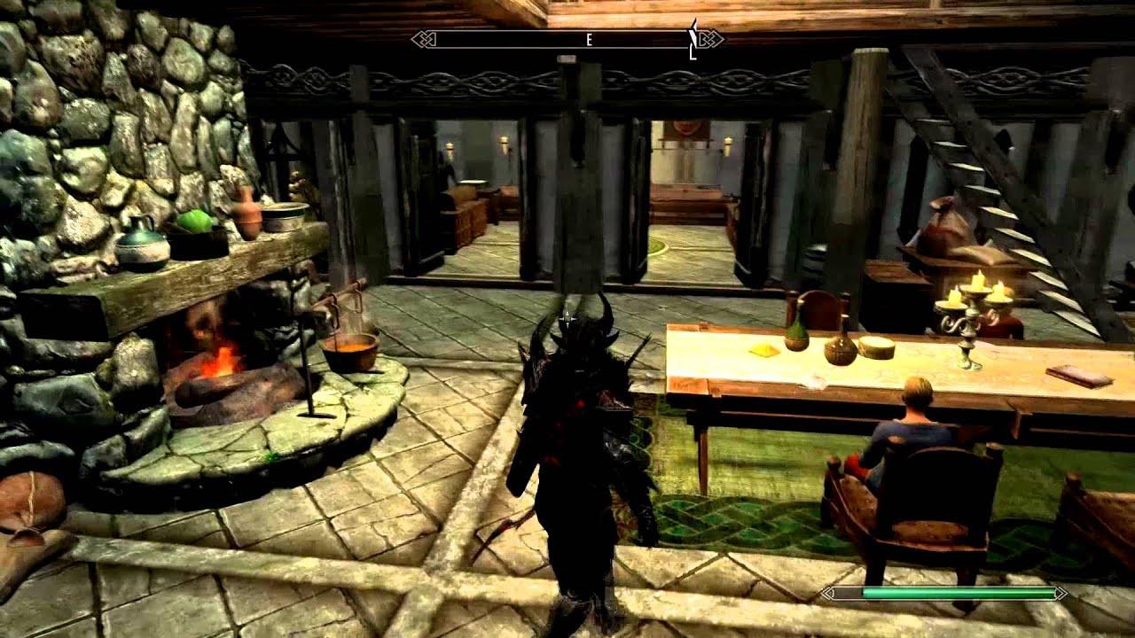 Elder Scrolls Skyrim Lakeview Manor Mod Heathfire Youtube