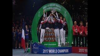 Francia logró la décima Copa Davis con la victoria de Pouille ante el belga Darcis