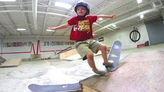 FATHER SON SKATE DEDICATION! / Slam Again And Again!