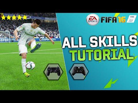 FIFA 16 ALL SKILLS TUTORIAL + SECRET SKILLS & New Skills / XBOX & PLAYSTATION