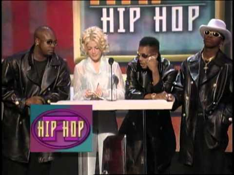 Coolio Wins Favorite Rap/Hip Hop New Artist Award - AMA 1996