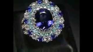 видео купить серебряное кольцо с сапфиром