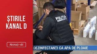 Stirile Kanal D (19.03.2019) - Acuzatii grave! Dezinfectanti ca apa de ploaie! Editie COMP ...