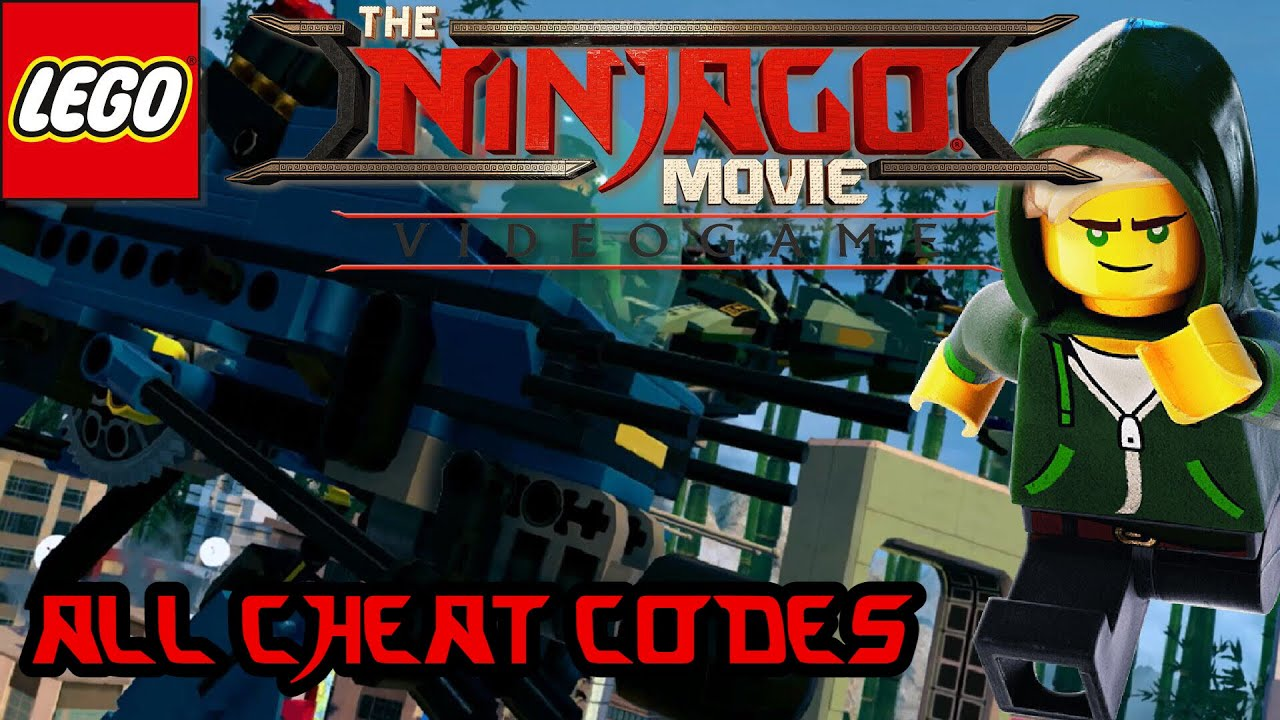 Lego Ninjago Movie VideoGame All Cheat Codes - YouTube
