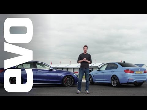 BMW M3 v Mercedes-Benz C63 S AMG | evo DEADLY RIVALS