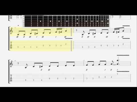 Beatles The   Lady Madonna GUITAR TABLATURE