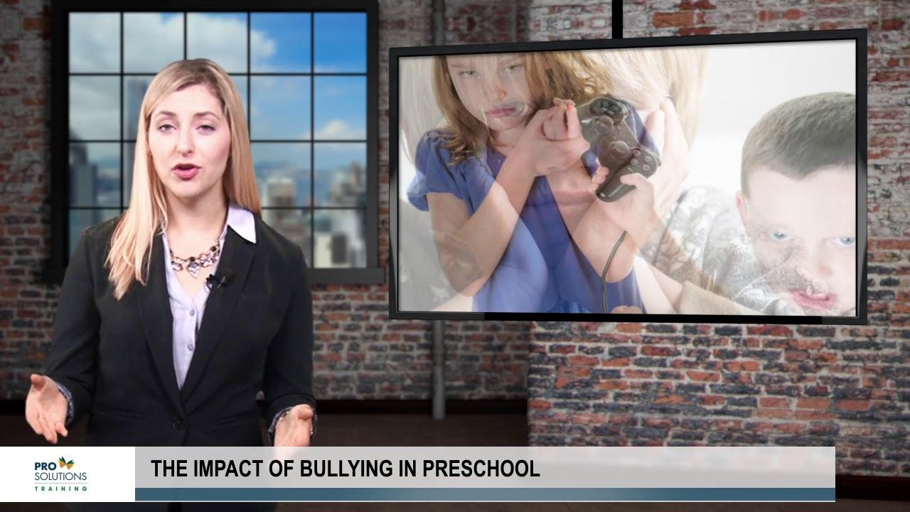 The Impact Of Bullying In Preschool Youtube