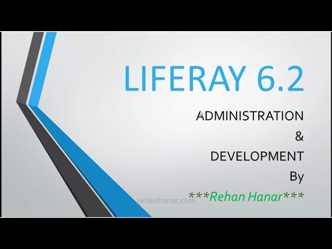 Liferay 6. 2 tutorial series part 1 complete administration and.