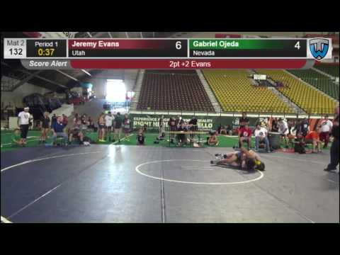 354 CADET 132 Jeremy Evans Utah vs Gabriel Ojeda Nevada 8420606104