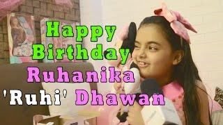Happy Birthday Ruhanika 'Ruhi' Dhawan