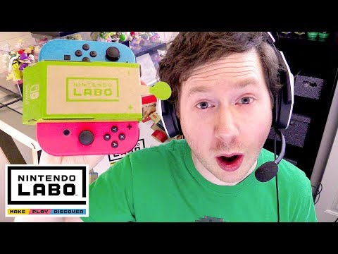 Nintendo Labo - Variety Kit - Unboxing and RC Car! (Toy-Con 01)