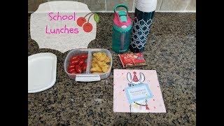School Lunches Week 7 - 2018/2019 school year