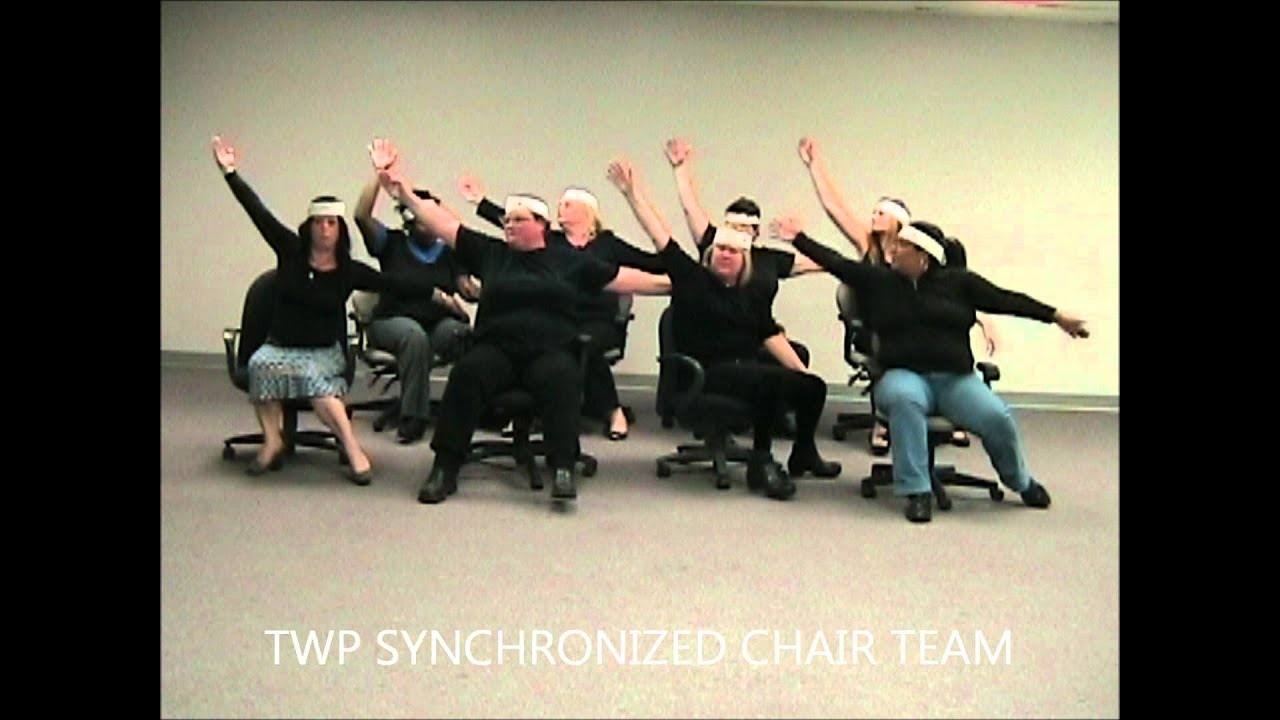 Twp United Way Quot Whole Lympics Quot Synchronized Chair Dancing