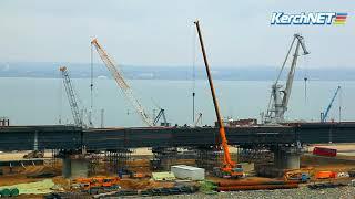 Мост через Керченский пролив 19.02.2018 г.