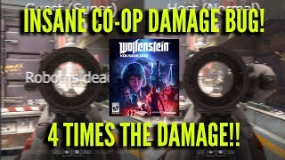 Wolfenstein Youngblood Insane Damage bug! 4 Times the Damage!