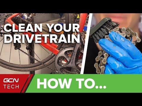 Drivetrain Deep Clean | Make Your Road Bike Ride Like New
