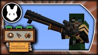 Immersive Engineering: Railgun & Charging Station - Minecraft 1.10.2/1.11.2!
