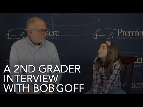 A 2nd Grader Interview With Bob Goff