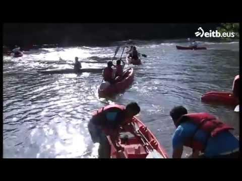 Desde Elciego hasta la Puebla de Labarca, en kayak