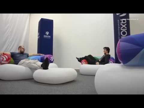 Pneu Möbel Chillout - aufblasbare Möbel mit Firmenbranding von no ...