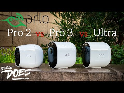 Comparing Arlo Pro 3 With Pro 2 And Arlo Ultra (Giveaway)