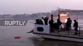 India: At Least 19 Dead As Overloaded Boat Capsizes In The Ganga River