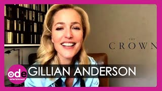 Gillian Anderson on becoming Margaret Thatcher in season 4 of The Crown!
