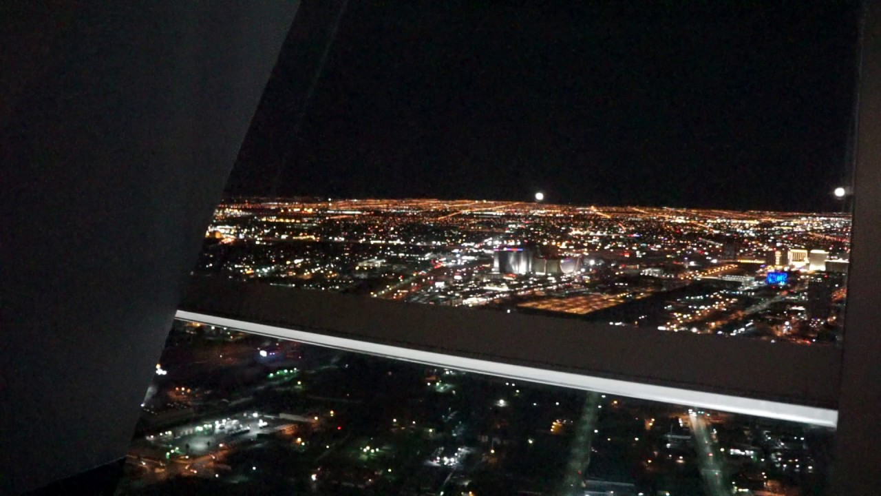 Stratosphere Top Of The World Spinning Restaurant Relaxing 360 View Of Las Vegas Sony A6000