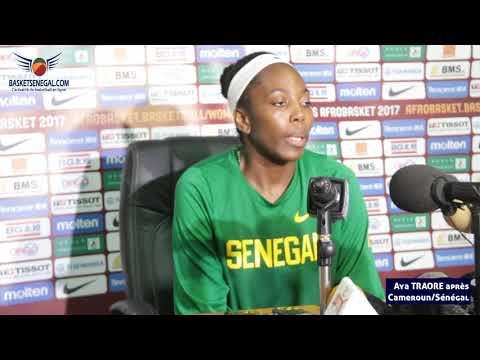 CAMEROUN vs SÉNÉGAL : Aya Traore en conférence de presse