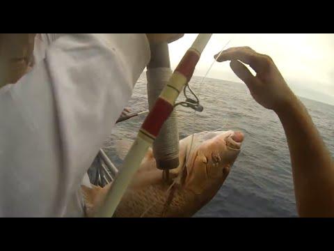 Capt. John Deep Sea Fishing Trip (Galveston, Tx) Pt.1 720p HD