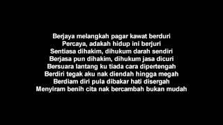 Malique Bukan Mudah feat Nukilan Karaoke Version YouTube