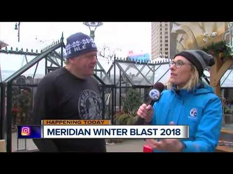 2018 Meridian Winter Blast being held this weekend in downtown Detroit