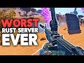 THE LAGGIEST, WORST RUST SERVER EVER