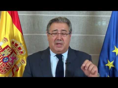 Mensaje del ministro de Interior, Juan Ignacio Zoido, con motivo del Día de la Constitución