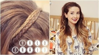 How To: Halo Braid | Zoella Thumbnail