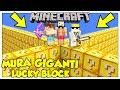La Sfida Delle Mura Giganti Di Lucky Block! - Minecraft Ita