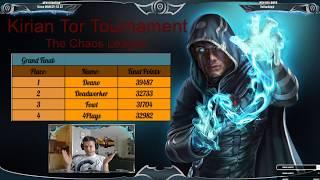 Kirian Tor Tournament: (Survival) Chaos League - Grand Finals!