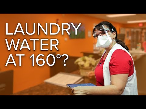 Does laundry water need to be 160 degrees?