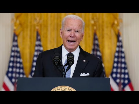 FULL ADDRESS: U.S. President Biden on the fall of Afghanistan to the Taliban
