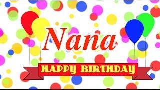 Happy Birthday Nana Song
