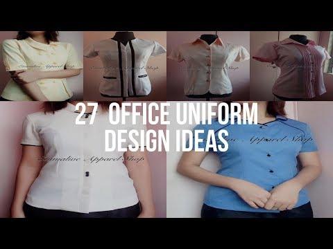 🔴 27  OFFICE UNIFORM DESIGN Ideas