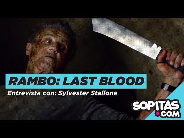 ENTREVISTA - Sylvester Stallone y por qué tardó tanto en llegar 'Rambo: Last Blood'
