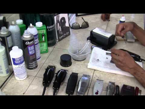 Wahl Balding Clipper - How to Sharpen Clippers by David Warren