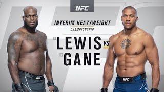 UFC 265: Derrick Lewis vs Ciryl Gane Highlights