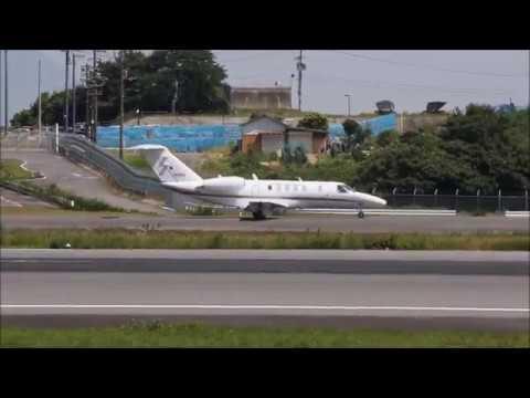 JA008G [Ministry Civil Aviation Bureau] Cessna 525C Citation CJ4  T/O RWY26 RJOT