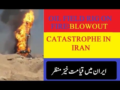 blow out in iran