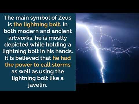 Zeus Symbols, Sacred Animals and Plants