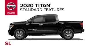 homepage tile video photo for 2020 Nissan Titan SL Walkaround & Review