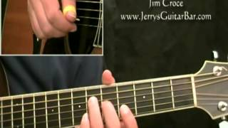 How To Play Jim Croce New York