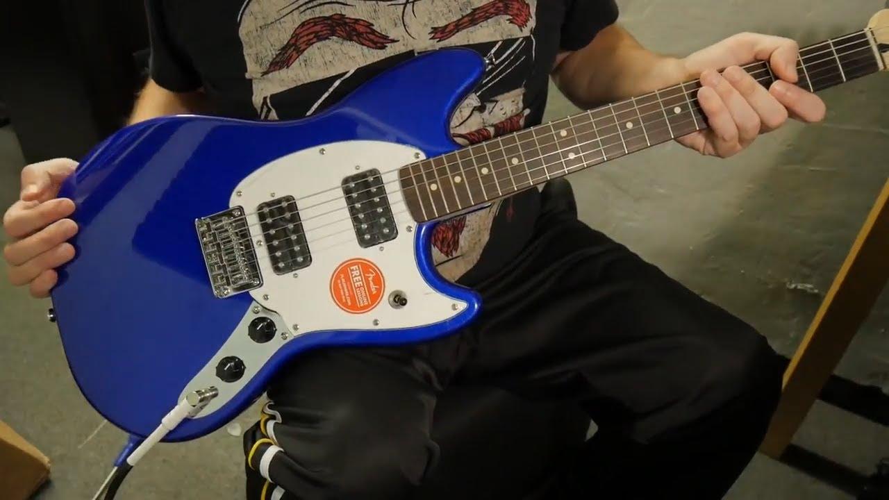 mustang guitaroftheday squier [ 1280 x 720 Pixel ]